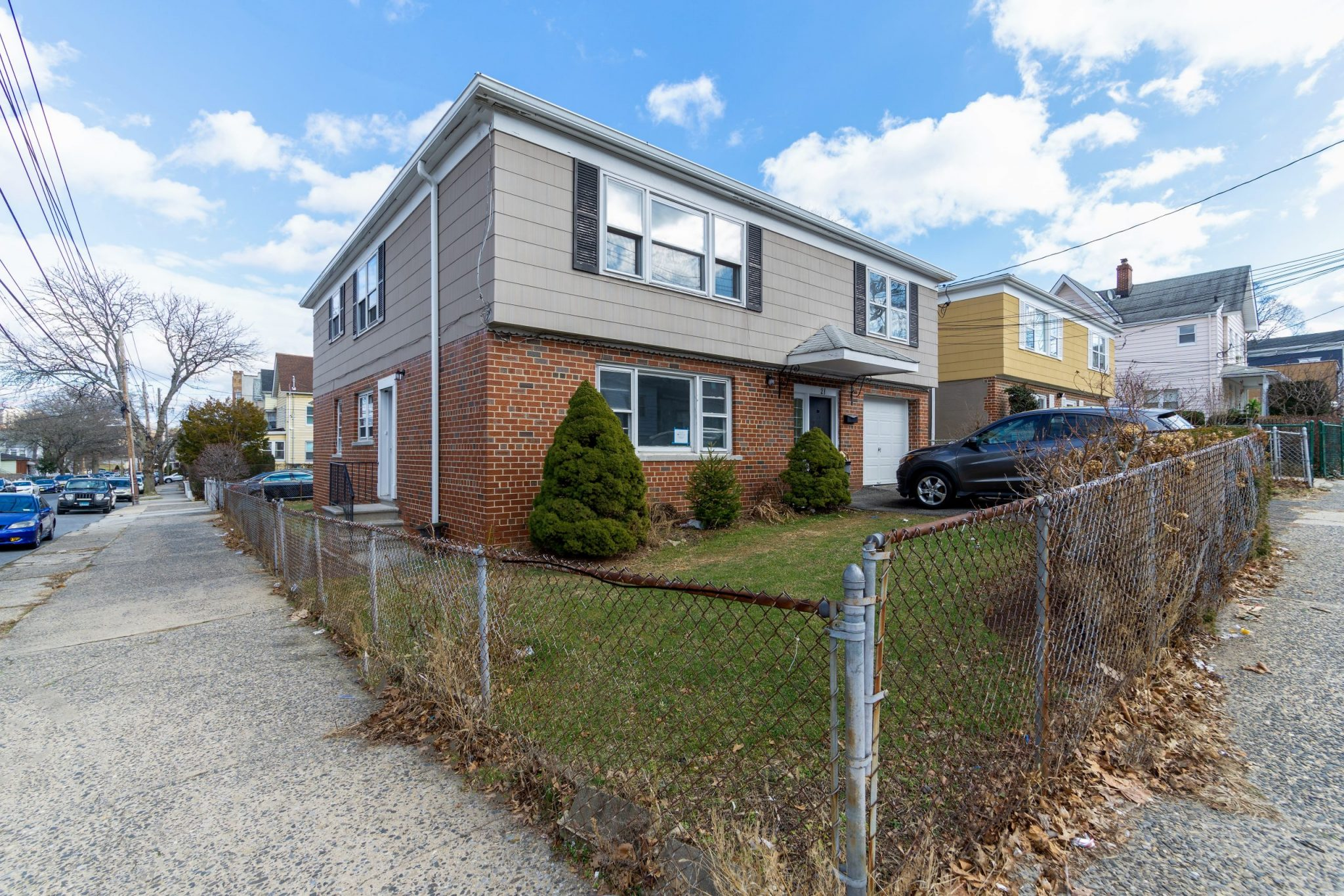 Two Family for sale in Mount Vernon, Bronx NY 10550. Corner, Detach 2 Family in a Tree Lined Bock!